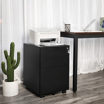 SONGMICS Steel File Cabinet 3 review