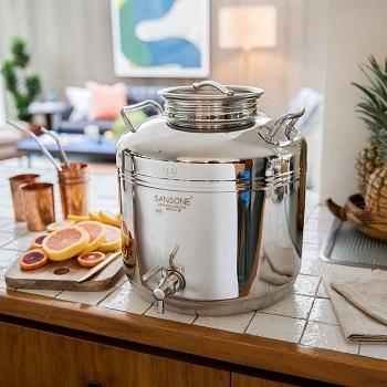 Sansone Stainless Steel Water Dispenser