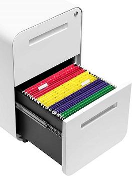 Stockpile 2-Drawer Modern Mobile