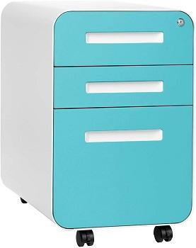 Stockpile 3-Drawer Mobile File Cabinet