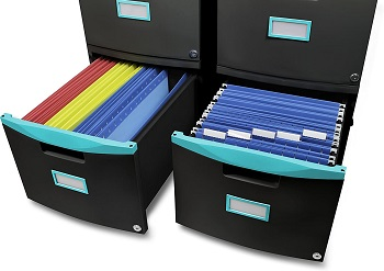 Storex Plastic 2-Drawer review
