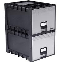 Storex Plastic Archive Storage Drawer picks