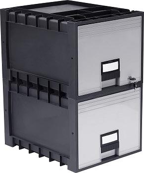 Storex Plastic Archive Storage Drawer