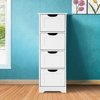 Tangkula Floor Cabinet Wooden Storage review