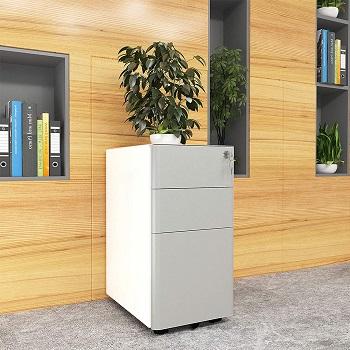 YITAHOME 3-Drawer Metal Filing Cabinet O