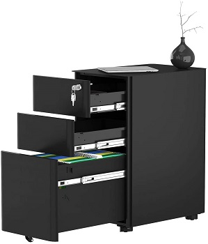 YITAHOME 3-Drawer Metal