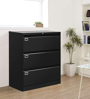 3 Drawer Lateral File Cabinet inviee