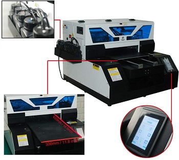 A3 UV Flatbed Printer for PVC