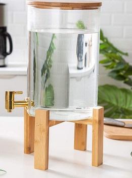 Aprilhp Glass Drink Dispenser Review