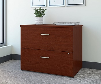 Bush Business Furniture Series C Lateral File Cabinet in Mahogany review
