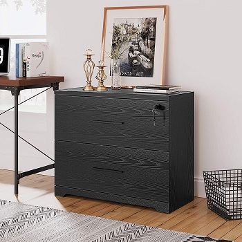 DEVAISE 2-Drawer Wood Lateral