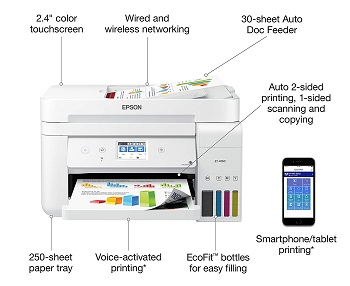 Epson ET-4760 Refillable Inkjet Printer Review