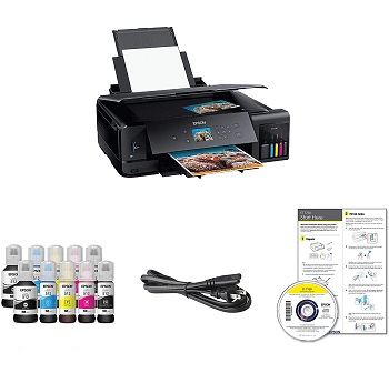 Epson ET-7750 Inkjet Printer With Refillable Ink Review