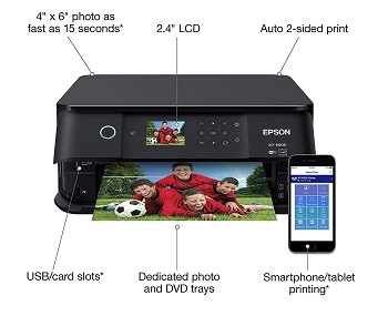Epson Expression XP 6000 Printer Review