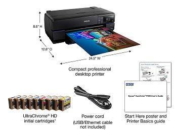 Epson P800 Inkjet Printer Review