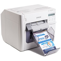 Epson TM C3500 Color Inkjet Label Printer Summary