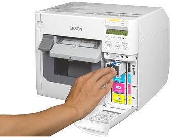 Epson TM C3500 Color Inkjet Label Printer