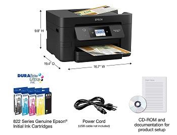Epson WF-3820 Scanner Printer