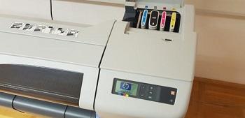 HP DesignJet CH337A Printer Review