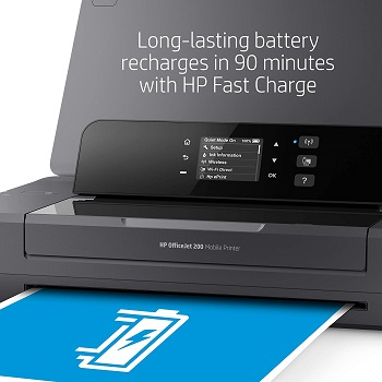 HP OfficeJet 200 Portable Color Inkjet Printer Review