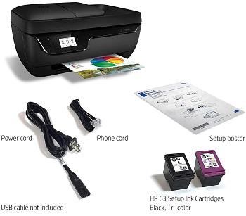 HP OfficeJet 3830 Scanner Inkjet Printer