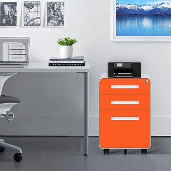 INTERGREAT Locking File Cabinet review