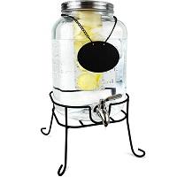 J&A Homes Glass Beverage Dispenser Picks