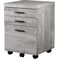 Offex Contemporary Grey Reclaimed Wood picks
