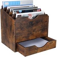 PAG Wood Desktop File Holder picks