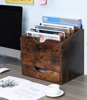 PAG Wood Desktop File Holder