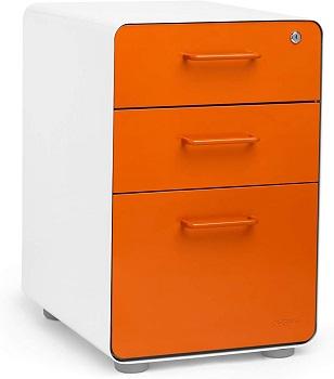 Poppin White + Orange Stow review