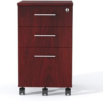 Safco Medina File Cabinet, Mahogany review