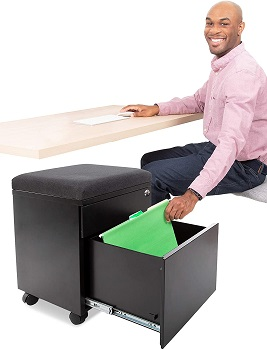 Stand Steady Vert Rolling File Cabinet