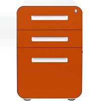Stockpile 3-Drawer Mobile File Cabinet, Commercial picks