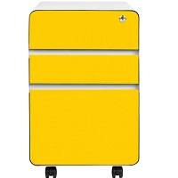 Stockpile Flat 3-Drawer Mobile File Cabinet picks