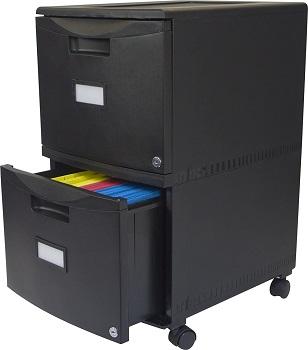 Storex Plastic 2-Drawer review