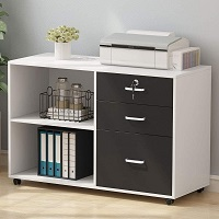 Tribesigns 3 Drawers File Cabinets picks
