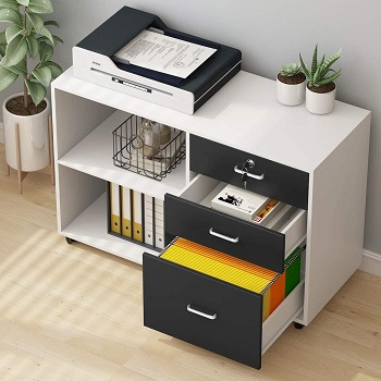 Tribesigns 3 Drawers File Cabinets review
