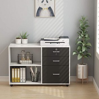 Tribesigns 3 Drawers File Cabinets