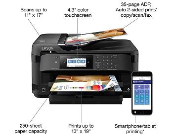 WorkForce WF7710 Inkjet Printer Review