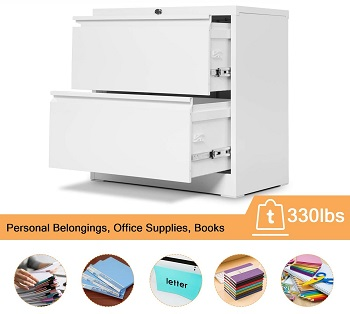 Aobabo Lateral File Cabinet