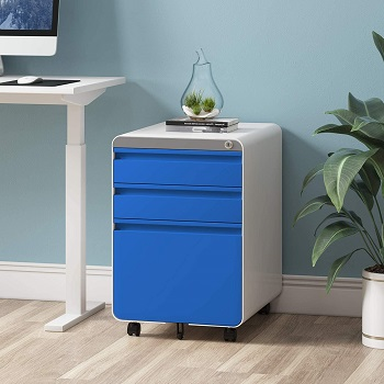 BEST 3-DRAWER SPACE SAVING FILE CABINET