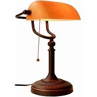 BEST AMBER ANTIQUE Banker's Lamp Picks