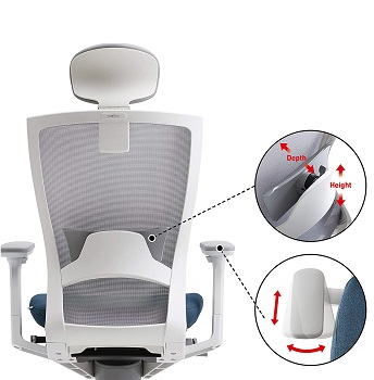 BEST ERGO POSTURE FOR BACK Sidiz T50 Chair