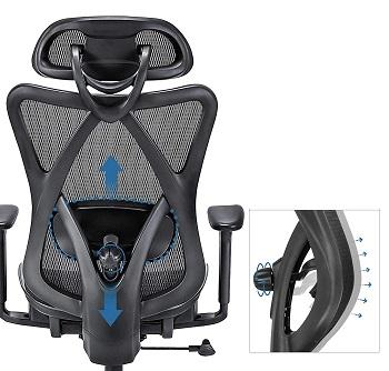 BEST ERGONOMIC FOR BACK Sunnow Chair