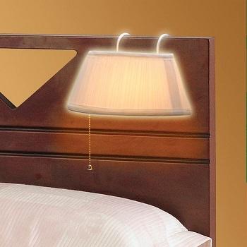 BEST HEADBOARD VINTAGE WalterDrake Reading Lamp