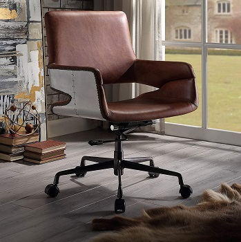 BEST INDUSTRIAL VINTAGE STYLE Acme 92567 Office Chair