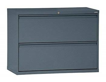 BEST LATERAL  Sandusky Lee Grey File Cabinet