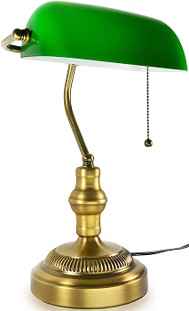 BEST OF BEST ANTIQUE Asoko Banker's Lamp