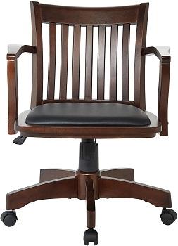 BEST OF BEST ANTIQUE WOODEN OSP Home 108ES Desk Chair